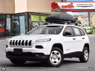 Used 2017 Jeep Cherokee Sport 4X4 V6 REAR CAMERA ROOF RACKS for sale in Scarborough, ON