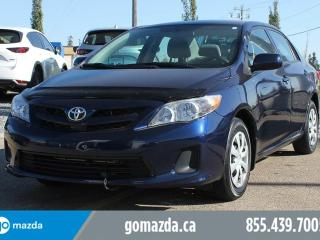 Used 2012 Toyota Corolla CE HEATED SEATS AUTO A/C POWER OPTIONS for sale in Edmonton, AB