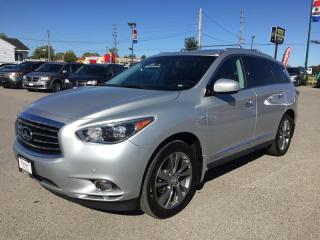 Used 2015 Infiniti QX60 PREMIUM * AWD * LEATHER * NAV * REAR CAM * DUAL DVD * PANO SUNROOF * BLUETOOTH * 7 PASS for sale in London, ON