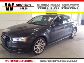 Used 2016 Audi A4 TFSI|LEATHER|SUNROOF|59,580 KMS for sale in Cambridge, ON