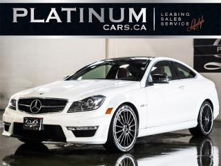 Used 2012 Mercedes-Benz C-Class C63 AMG COUPE, PERFO for sale in North York, ON