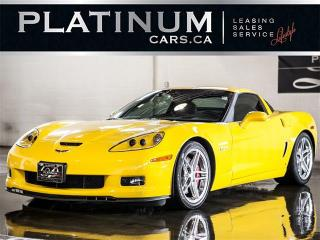 Used 2007 Chevrolet Corvette Z06 SUPERCHARGED 655HP, 3LZ PKG, NAVI, BOSE AUDIO for sale in North York, ON