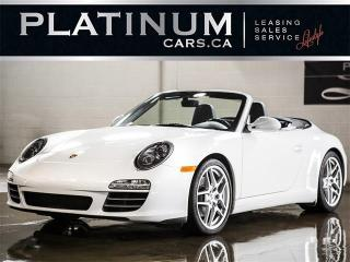 Used 2011 Porsche 911 CARRERA 4 CABRIOLET, SPORT CHRONO, PDK, NAVI for sale in North York, ON