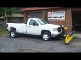 Used 2008 GMC Sierra 3500 Duramax Duallie 4X4 w/ Fisher Plow for sale in Elginburg, ON