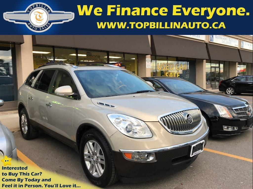 used 2009 buick enclave leather sunroof for sale in concord ontario. Black Bedroom Furniture Sets. Home Design Ideas