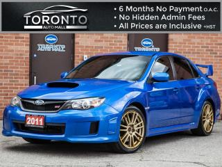 Used 2011 Subaru Impreza WRX STi 6 Speed+Signature Blue on Gold Rims+No accidents for sale in North York, ON