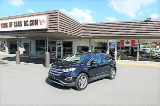 Used 2016 Ford Edge Titanium AWD for sale in Langley, BC