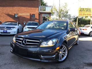 Used 2014 Mercedes-Benz C-Class PanoramicRoof*Navi*LaneAssist*LightingPkg&MBWarr* for sale in York, ON