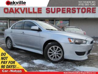 Used 2014 Mitsubishi Lancer SE | BLUETOOTH | HEATED SEATS | A/C | OPEN SUNDAY for sale in Oakville, ON
