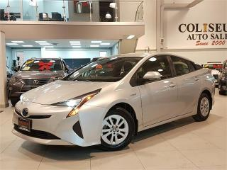 Used 2016 Toyota Prius HYBRID-CAMERA-FACTORY WARRANTY-ONLY 28KM for sale in York, ON
