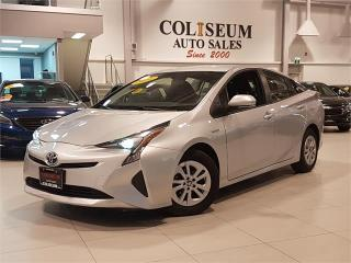 Used 2016 Toyota Prius HYBRID-CAMERA-FACTORY WARRANTY-ONLY 27KM for sale in York, ON