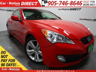 Used 2011 Hyundai Genesis Coupe 2.0T Premium| LEATHER| SUNROOF| for sale in Burlington, ON