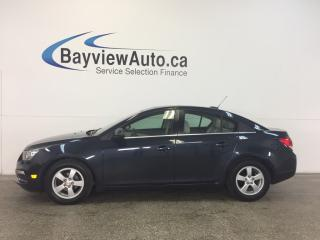 Used 2015 Chevrolet Cruze LT -REM START! LEATHER! ROOF! AUTO! A/C! TURBO! for sale in Belleville, ON