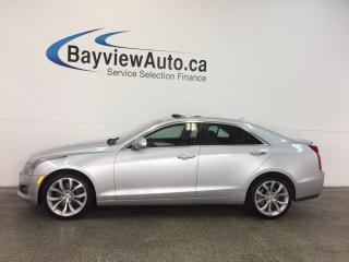 Used 2014 Cadillac ATS PERFORMANCE- AWD|3.6L|ROOF|HTD LTHR|NAV|BOSE! for sale in Belleville, ON