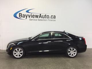 Used 2014 Cadillac ATS - 2.5L|PUSH BTN STRT|HTD LTHR|ON STAR|BOSE! for sale in Belleville, ON