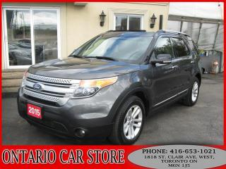 Used 2015 Ford Explorer XLT NAVIGATION SUNROOF DUAL DVD for sale in Toronto, ON