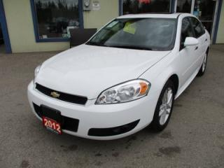 Used 2012 Chevrolet Impala LOADED LTZ MODEL 5 PASSENGER 3.6L - V6.. LEATHER.. HEATED SEATS.. POWER SUNROOF.. BOSE AUDIO.. for sale in Bradford, ON