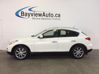 Used 2014 Infiniti QX50 JOURNEY- AWD-3.7L|ROOF|HTD LTHR|REV CAM|BLUETOOTH! for sale in Belleville, ON