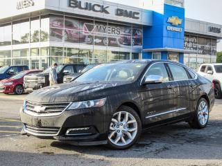 Used 2017 Chevrolet Impala PREMIER, LTZ, LEATHER, SUNROOF, V6 *LOADED!! for sale in Ottawa, ON