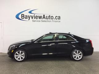 Used 2013 Cadillac ATS - 2.5L|SUNROOF|HTD LTHR|REV CAM|BOSE|ON STAR! for sale in Belleville, ON
