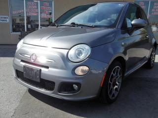 Used 2012 Fiat 500 Sport $61.51 BI WEEKLY! $0 DOWN! CERTIFIED! for sale in Bolton, ON