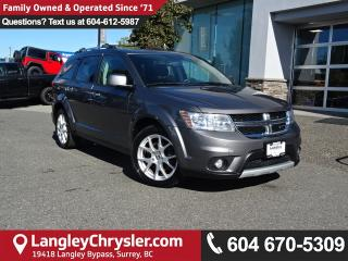 Used 2013 Dodge Journey R/T *ACCIDENT FREE * LOCAL BC CAR * for sale in Surrey, BC