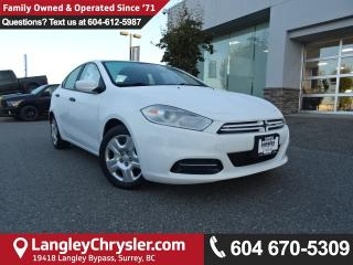 Used 2014 Dodge Dart SE *ACCIDENT FREE*ONE OWNER*LOCAL BC CAR* for sale in Surrey, BC