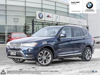 Used 2017 BMW X3 xDrive28i NAV | ONE OWNER | PANO SUNROOF for sale in Oakville, ON