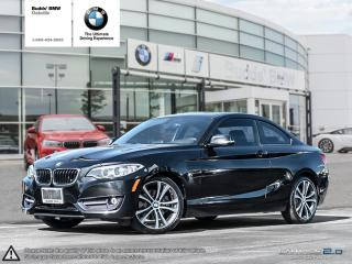 Used 2014 BMW 228i Coupe Sport Line SPORT | SUNROOF | KEYLESS ENTRY | HARMON KARDON SOUND SYSTEM for sale in Oakville, ON