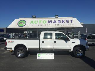 Used 2006 Ford F-350 FX4 XLT 4X4 CREW HEADS & EGR DONE for sale in Langley, BC