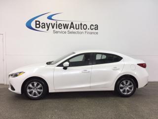 Used 2014 Mazda MAZDA3 GX- SKYACTIV|AUTO|PUSH BTN STRT|AC|BUETOOTH! for sale in Belleville, ON