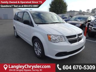New 2017 Dodge Grand Caravan SXT Plus Group, Climate Group, Uconnect Hands-Free Group for sale in Surrey, BC