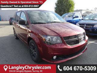 New 2017 Dodge Grand Caravan Uconnect Hands-Free Group, Climate Group for sale in Surrey, BC