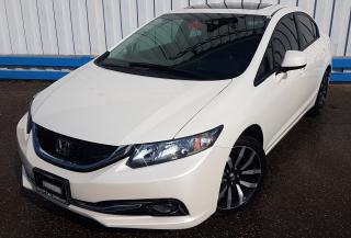 Used 2013 Honda Civic Touring *LEATHER-SUNROOF* for sale in Kitchener, ON