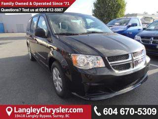 New 2017 Dodge Grand Caravan SE for sale in Surrey, BC