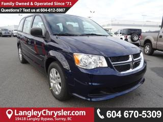 New 2017 Dodge Grand Caravan CVP/SXT SE for sale in Surrey, BC