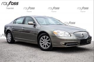 Used 2011 Buick Lucerne CXL Nav Driver Confidence Pkg Sunroof for sale in Thornhill, ON