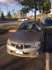 Used 2006 Subaru Impreza Outback Sport for sale in Ottawa, ON