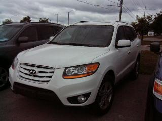 Used 2010 Hyundai Santa Fe LIMITED for sale in Georgetown, ON