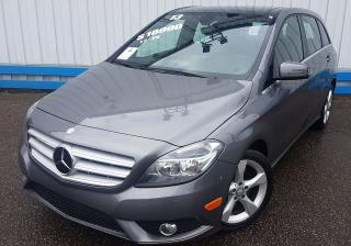Used 2013 Mercedes-Benz B-Class B250 TURBO *LEATHER-SUNROOF* for sale in Kitchener, ON
