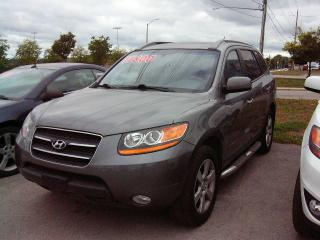 Used 2009 Hyundai Santa Fe LIMITED for sale in Georgetown, ON