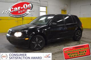 Used 2002 Volkswagen Golf GLS 2.0L POWER GROUP HEATED SEATS for sale in Ottawa, ON