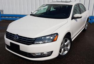 Used 2013 Volkswagen Passat TDI DIESEL *LEATHER-SUNROOF* for sale in Kitchener, ON
