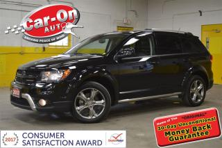 Used 2017 Dodge Journey Crossroad AWD 7 PASS LEATHER SUNROOF NAV DVD for sale in Ottawa, ON