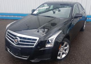 Used 2014 Cadillac ATS 2.0T AWD *LEATHER-NAVIGATION* for sale in Kitchener, ON