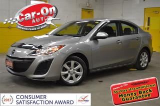 Used 2011 Mazda MAZDA3 GX AUTO A/C CRUISE ONLY 47000KMS!! for sale in Ottawa, ON