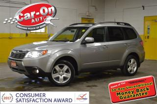 Used 2009 Subaru Forester 2.5 X Limited PKG LEATHER FULL PWR GRP SUNROOF for sale in Ottawa, ON