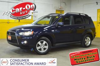 Used 2010 Mitsubishi Outlander ES 4X4 A/C HTD SEATS CRUISE ALLOYS for sale in Ottawa, ON