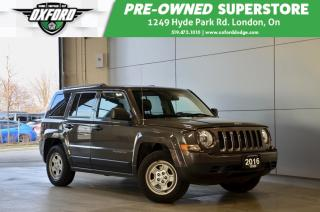 Used 2016 Jeep Patriot Sport - Manual, Cruise, Air for sale in London, ON