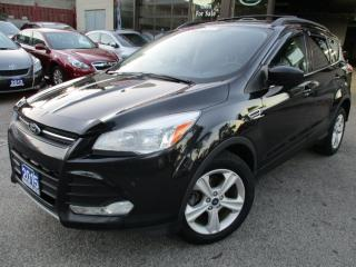Used 2015 Ford Escape SE-CAMERA-BLUE-TOOTH-I-POD-INTEGRATION-KIT for sale in Scarborough, ON